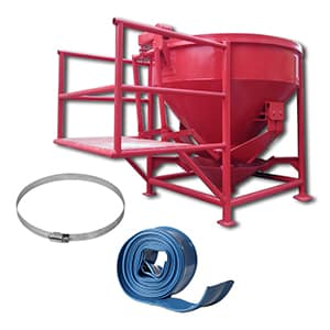 Bucket Cor BC 800 L Alat Konstruksi